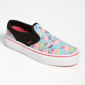 Vans Infant Girls Cupcake Slip-on Sneakers, sz. 4